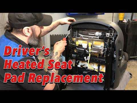 Driver's Heated Seat Pad Replacement