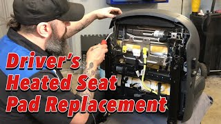 Repair Monday - Driver's Heated Seat Pad Replacement