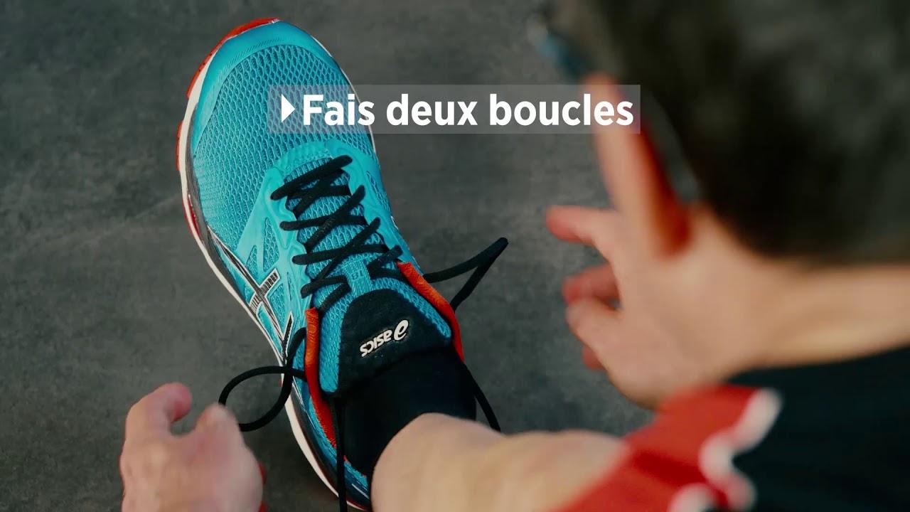 Astuce SportXX: le laçage papillon pour chaussures de course à pied