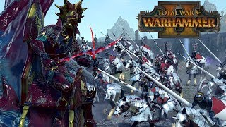 KRAKEN DRAGON - Dark Elves vs Empire // Total War: Warhammer II Online Battle