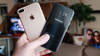 iPhone 7 plus vs S7 Edge - Camera