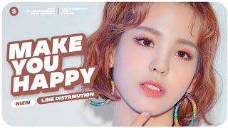NiziU - Make You Happy // Line Distribution
