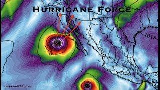 *NEW* - Hurricane Updates - West US and Hawaii landfalls possible? - Leslie Landfall