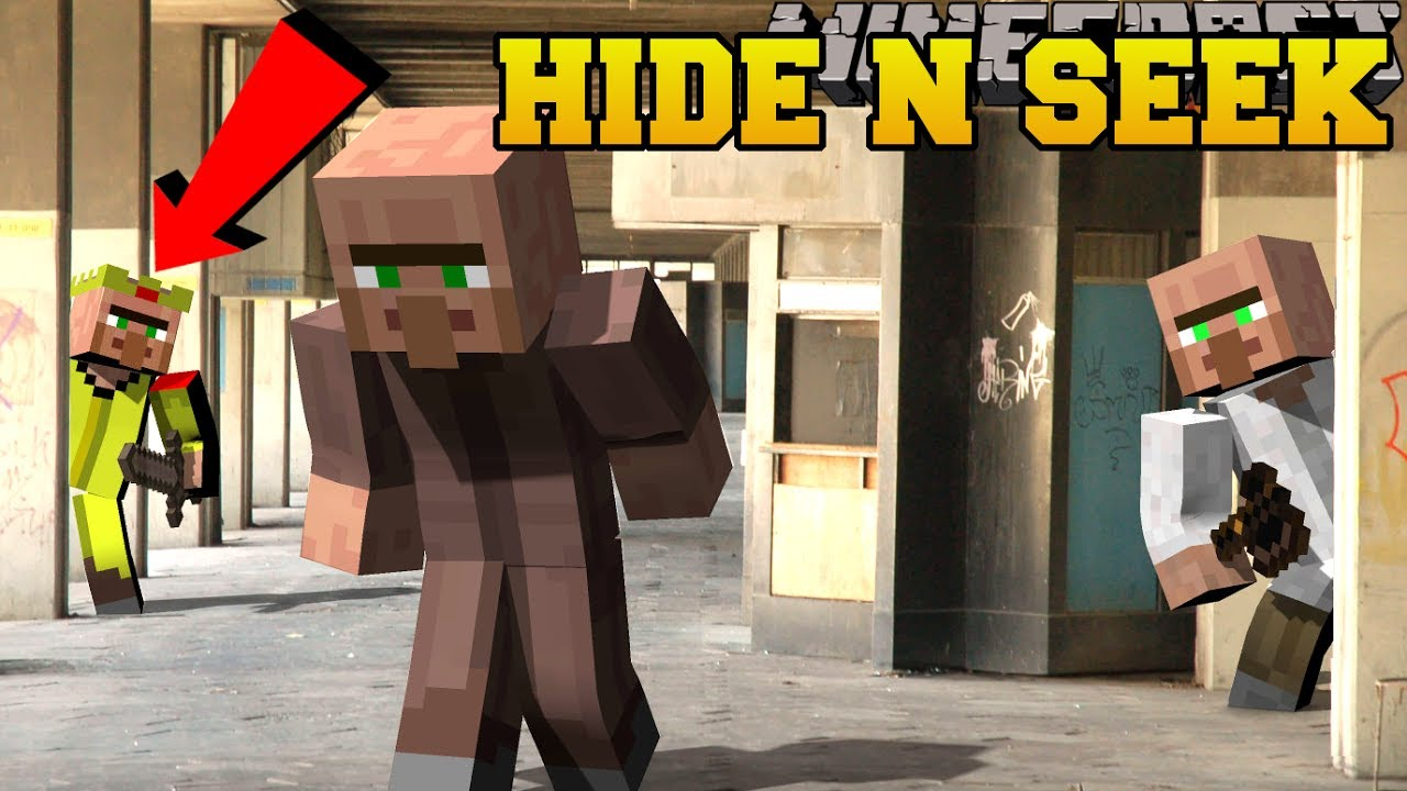 Minecraft villagers hide and seek morph hide and seek minecraft villagers hide and seek morph hide and seek modded mini game sciox Images