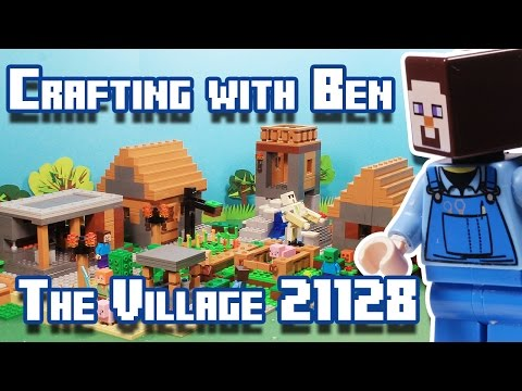 Crafting with Ben | Minecraft - The Village 21128 Lego Set