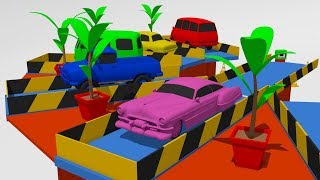 Colors for Children to Learn With Car Parking - Learn Colors with Cars | Kolorowe Auta Toys