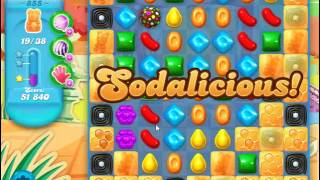 Candy Crush Soda Saga Level 855