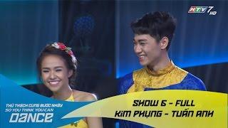 Độc Tấu Đàn Tranh - Kim Phụng & Tuấn Anh // DG đương đại - Show 6 - Thử Thách Cùng Bước Nhảy 2016