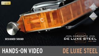 SEYDEL HANDS-ON VIDEO: ASSEMBLY DE LUXE STEEL Chromatic Harmonica