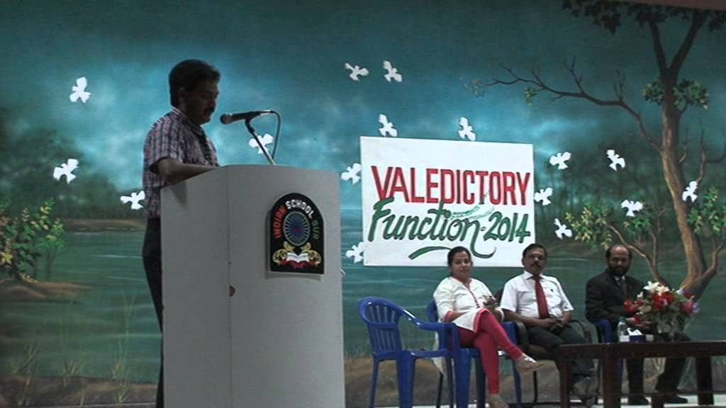 welcome speech on valedictory function 2013 - 14 batch