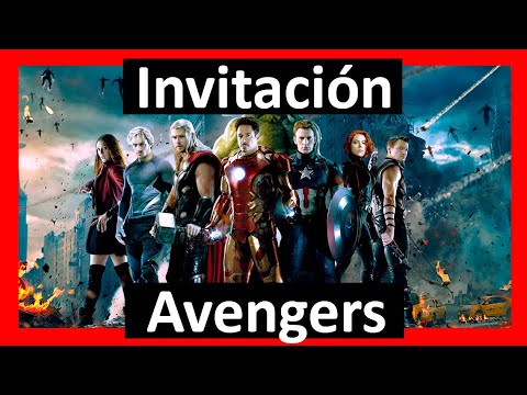 Video Invitación Avengers Los Vengadores Whatsapp