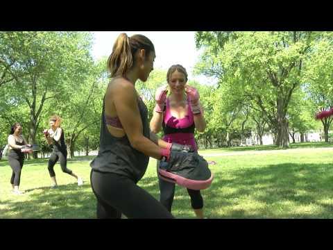 Femme Fitale Gives Sarah Davis A Workout