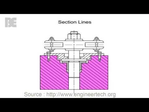 Intoduction How to Read and Draw Blueprint Lines - The Basic Engineering