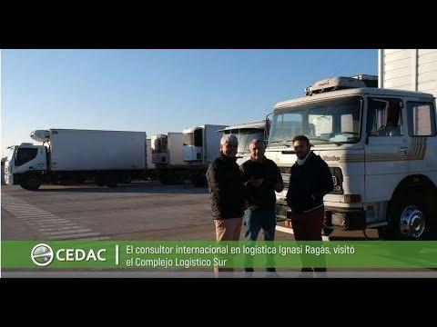 Complejo Logístico Sur Recibió A Consultor Internacional En Transporte