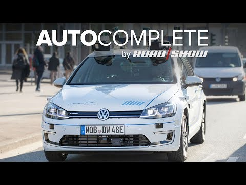 AutoComplete: VW is testing Level 4 autonomous eGolfs in Hamburg