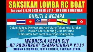 RC BOAT - Indonesia Asean cup 2017 - Embung Bengawan Kota Tarakan