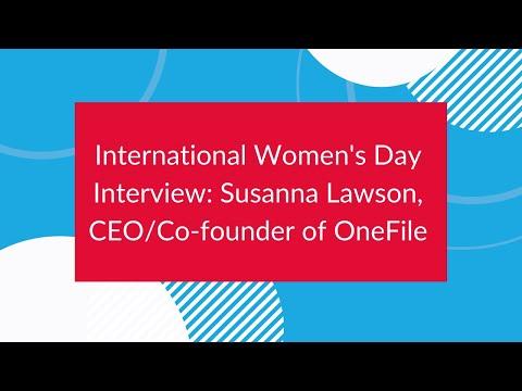 Susanna Lawson interview