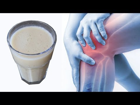 Secret Drink to eliminate & cure Knee Joint Pain - Healthy Natural Remedy