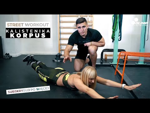 Poradnik Street Workout - KORPUS - Olimp Sport Nutrition
