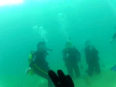 Athens Scuba Park Open Water class Dive West