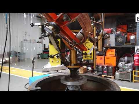 Bugo Cypress CW-7 Sub Arc Circle Welder - Function Demonstration