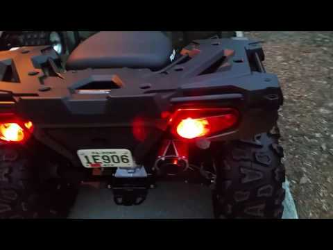 Jerry's 2016 Polaris sportsman 570 with 26in tires and rock star wheels