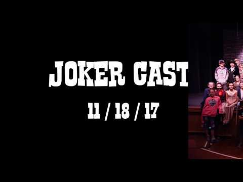 Mark Day School's production of Zanies - Joker Cast 11-18-17