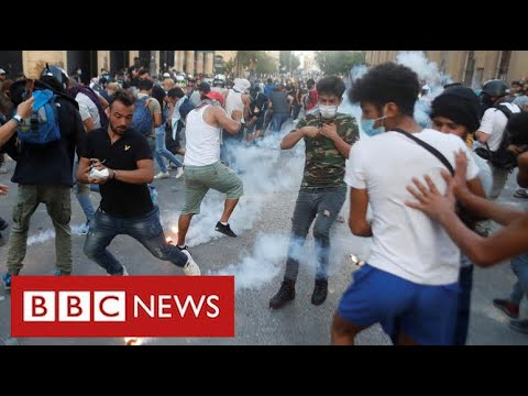 "Lebanon's government collapses following Beirut explosion, blaming ""endemic corruption"" - BBC News"