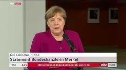 LIVE: Statement Merkel zu Konferenz mit Gesundheitsamt des Landkreises Harz