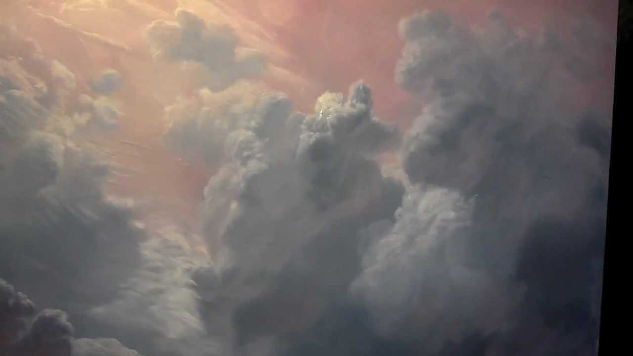 How To Paint Storm Clouds In Oil