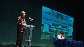 Kuliah Umum Bersama Prof. Dr. Ahmad Syafi'i Maarif Di ISI Padangpanjang