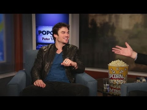 Ian Somerhalder Discusses His Role On CW's The Vampire Diaries