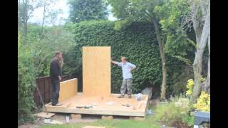 Kontemporary Garden Office Sip100 Shell Build