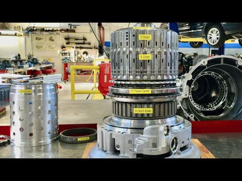 ZF 8HP 8 Speed Automatic Transmission