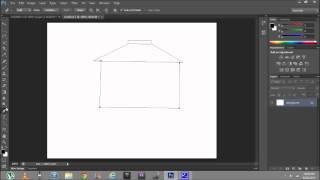 basic vector drawing bahay kubo