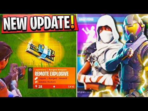 NEW Fortnite UPDATE! - NEW