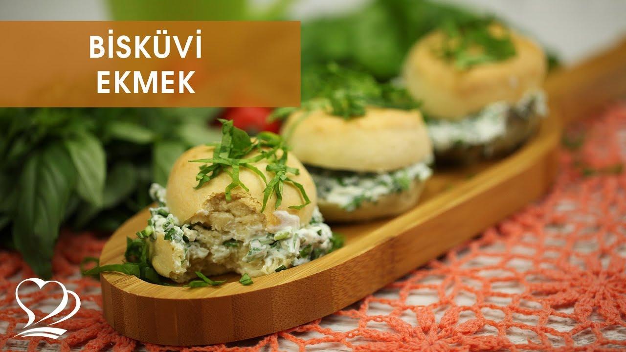 Yeşillikli Mini Ekmekler