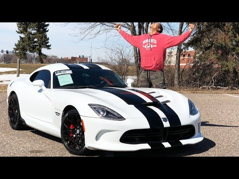 THE VIPER GTS IS TRULY ONE OF A KIND & UNBELIEVABLE TO DRIVE!