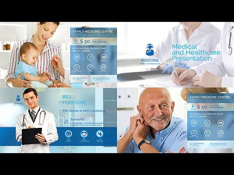 medical healthcare center - medic/doctor/medical presentation, Presentation templates