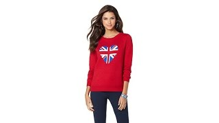 twiggy LONDON British Inspired Novelty Sweater