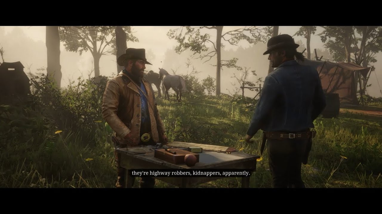 Red Dead Redemption 2 Chapter 3 Mission 33 Rob Homestead