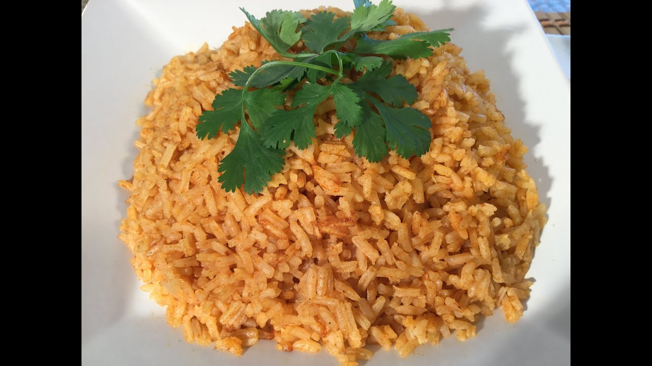 How to make mexican rice food recipes burrito side dish youtube forumfinder Image collections
