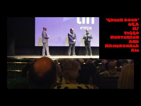 'Green Book' Q&A w/Viggo Mortensen & Nick Vallelonga | TIFF18 ...