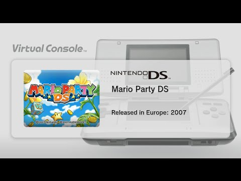 Mario Party DS (Wii U) - First 35 Minutes - Virtual Console - DS