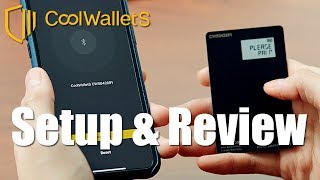CoolWallet S Initial Setup Transactions & Review - The Ultra Slim Crypto Hardware Wallet