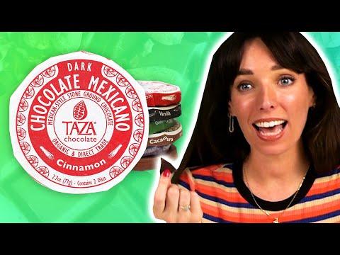 Irish People Try Mexican Stone Ground Chocolate