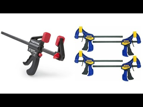 Top 5 Best Clamps Reviews 2017 | Best Woodworking Clamps