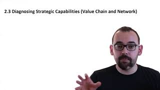 2.3 Organisation´s Value Chain and Value Network