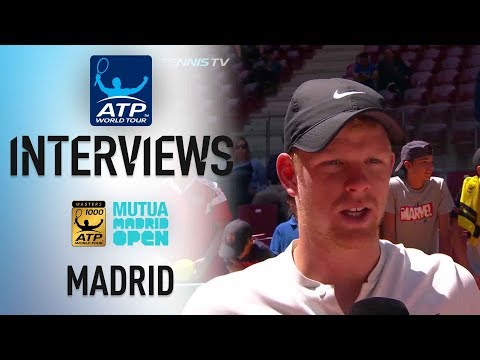 Edmund Says He's 'In A Good Place' In Madrid 2018
