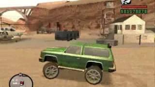 Grand Theft Auto San Andreas ja Streetmonster